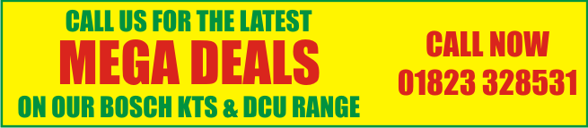 Call us for the latest MEGA DEALS on 01823 328531
