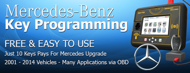 Zed-Full Mercedes key Programming