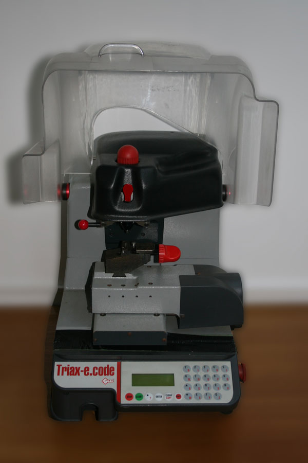 Silca Triax-e.Code  Laser & Dimple Key Machine