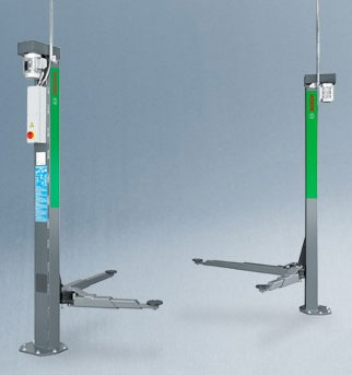 Bosch VLE2130E 2 Post Baseless Lift